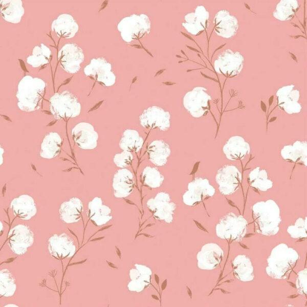 tela soft shell katia cotton flower