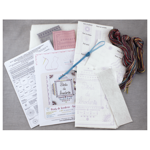 cahier broderie points broderie 2