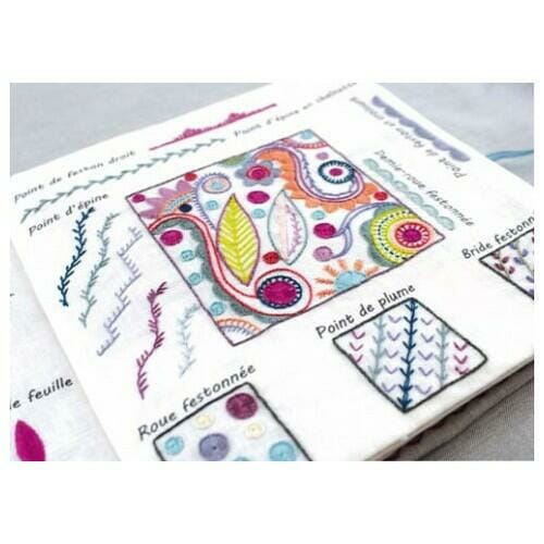 cahier broderie points broderie 5