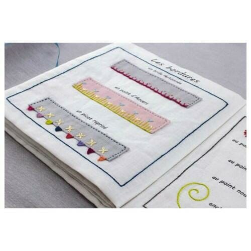 cahier broderie points broderie 7