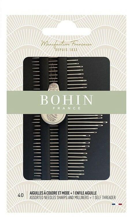 agujas bohin costura libro de 40 agu bh05099